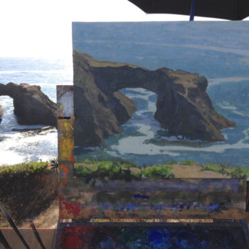 2014 Mendocino Open Paint Out