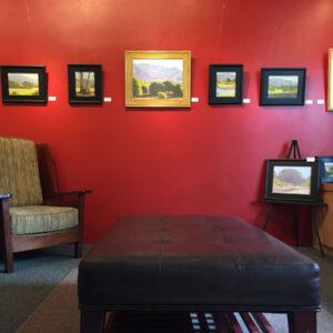 Dan Schultz Fine Art Gallery & Studio Interior
