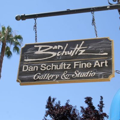 Dan Schultz Fine Art Gallery & Studio Sign