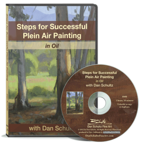 Steps for Successful Plein Air Painting DVD by Dan Schultz