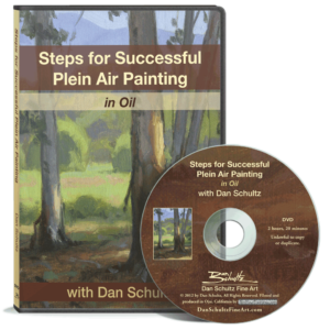 Steps for Successful Plein Air Painting DVD by Dan Schultz