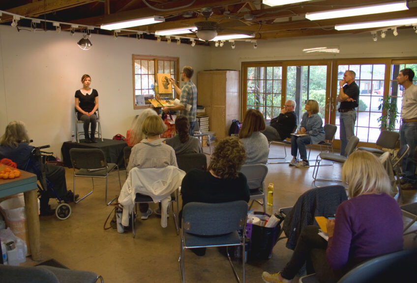 Ojai Portrait Painting Workshop