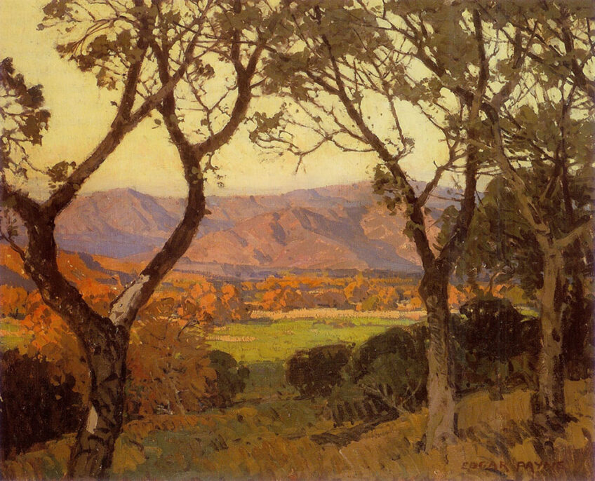 Edgar Payne and the Ojai Valley