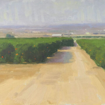 First Place Award at Kern County Plein Air Show