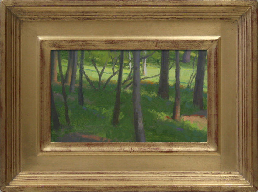 Award at Glen Eyrie Paint Out in Colorado Springs