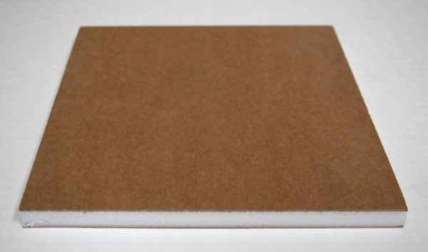 Gatorfoam 1/2″ natural face with white core.