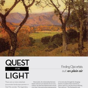 Ojai Quarterly Magazine Article