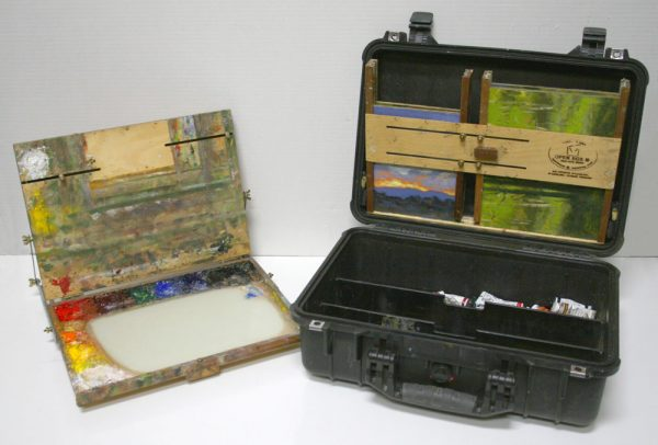 Open Box M 11x14 Palette/Panel Holder with Pelican Case