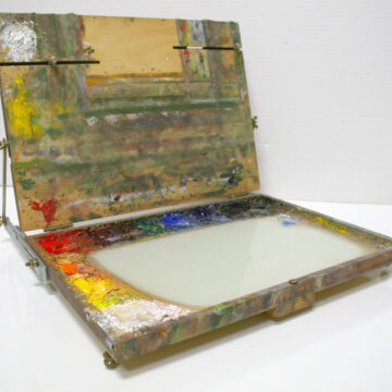 Open Box M Pochade Box :: My Favorite Piece of Painting Equipment