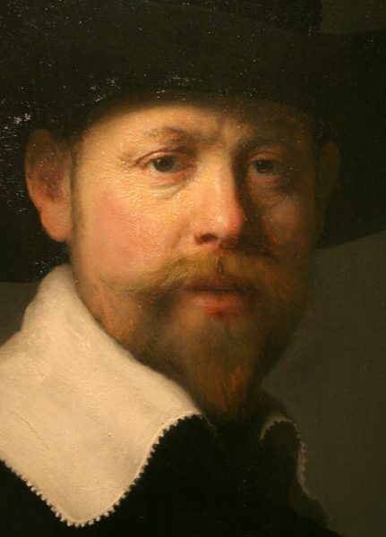 Portrait of Marten Looten by Rembrandt (1632) in the LACMA Collection