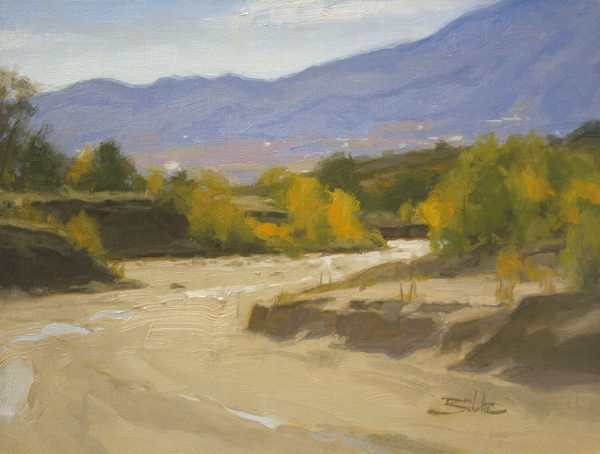 Sand Creek •9x12 inches •Oil on Linen Panel •Sold