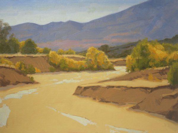 Sand Creek Oil Painting Demonstration by Dan Schultz, Step 09