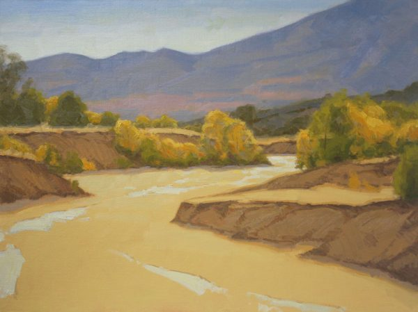 Sand Creek Oil Painting Demonstration by Dan Schultz, Step 10