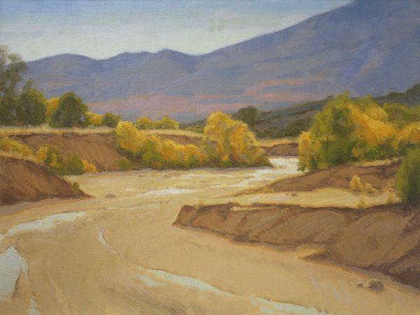 Sand Creek Oil Painting Demonstration by Dan Schultz, Step 11