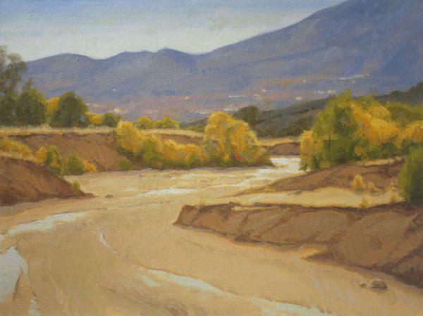 Sand Creek Oil Painting Demonstration by Dan Schultz, Step 12