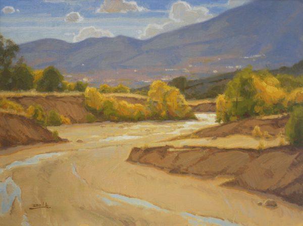 Sand Creek Oil Painting Demonstration by Dan Schultz, Step 14