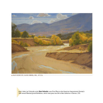 Southwest Art Magazine Features Sand Creek Painting