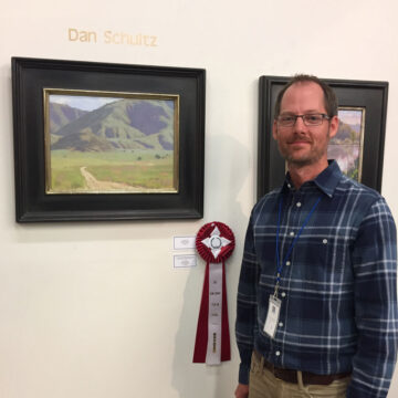 Second Place Award at Kern County Plein Air Show
