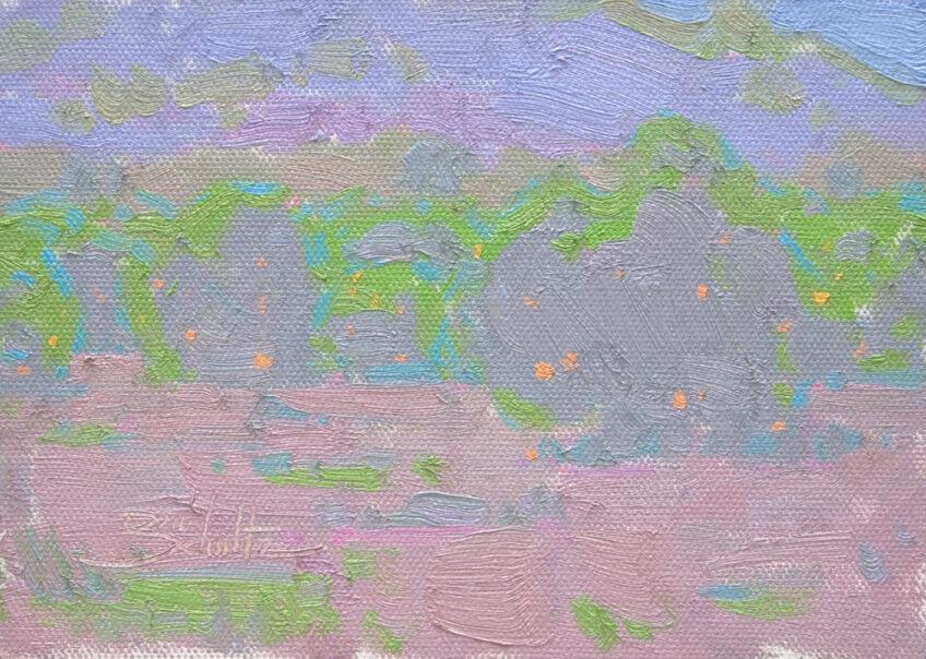 Exploring Color Temperature :: Mono-Value Painting