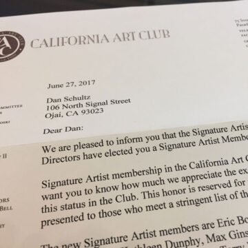 Signature Artist Membership :: California Art Club
