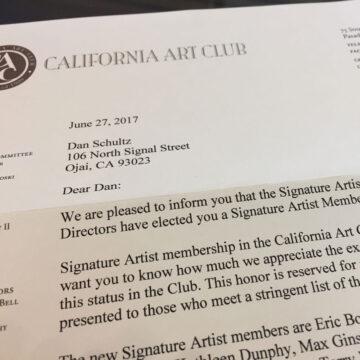 Signature Artist Membership :: California Art Club