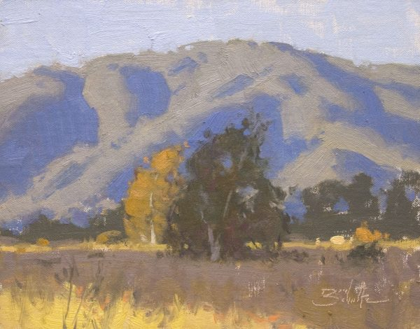 Early Light •8x10 inches •Oil on Linen Panel •Available from Dan Schultz Fine Art in Ojai, California