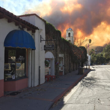 Ojai and the Thomas Fire