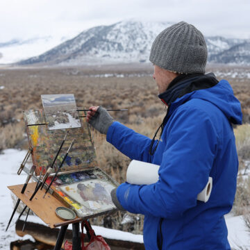 Five Tips for Painting Snow Outdoors