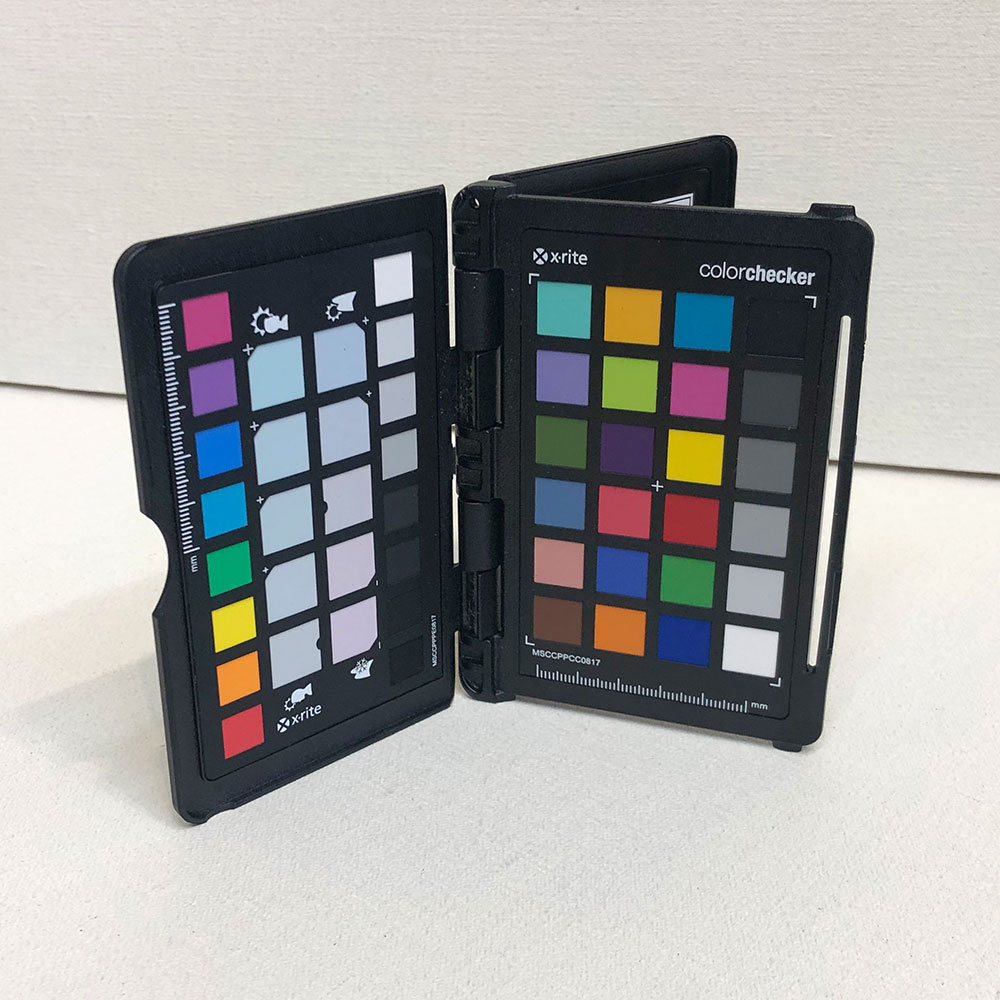 Color Checker Passport color swatch card