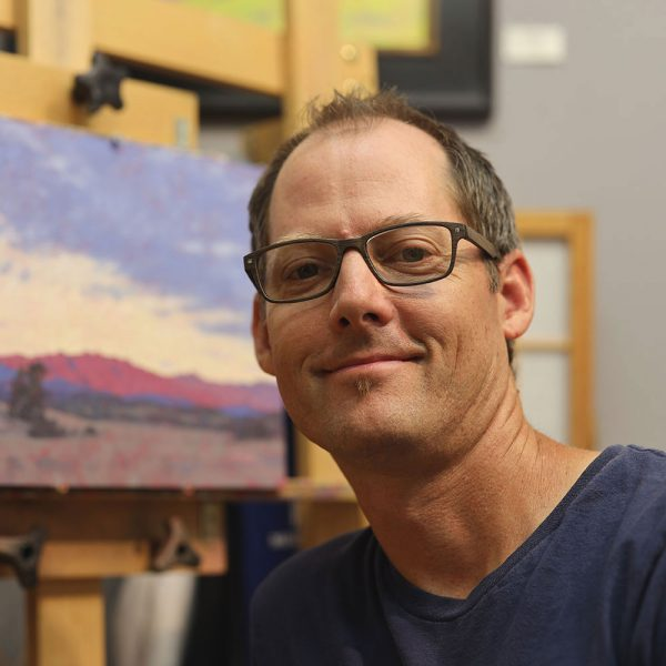 Dan Schultz in his Ojai, California studio