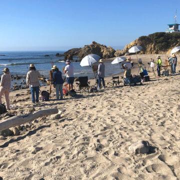 Painting the Malibu Coastline