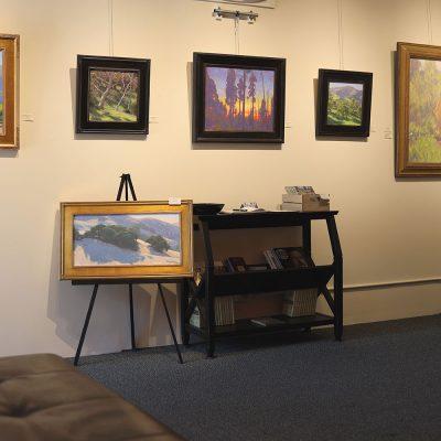Dan Schultz Fine Art Gallery Interior