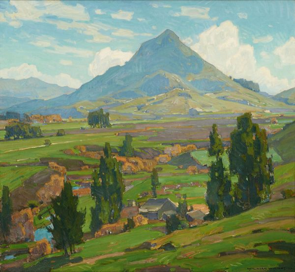 William Wendt painting: The Soil, 30x36