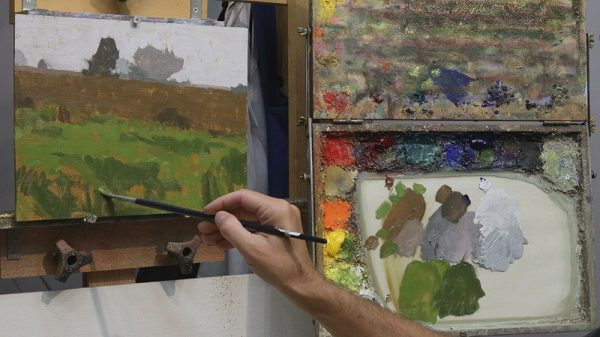 Limited Palette Demonstration, Dan Schultz Landscape Painting Curriculum