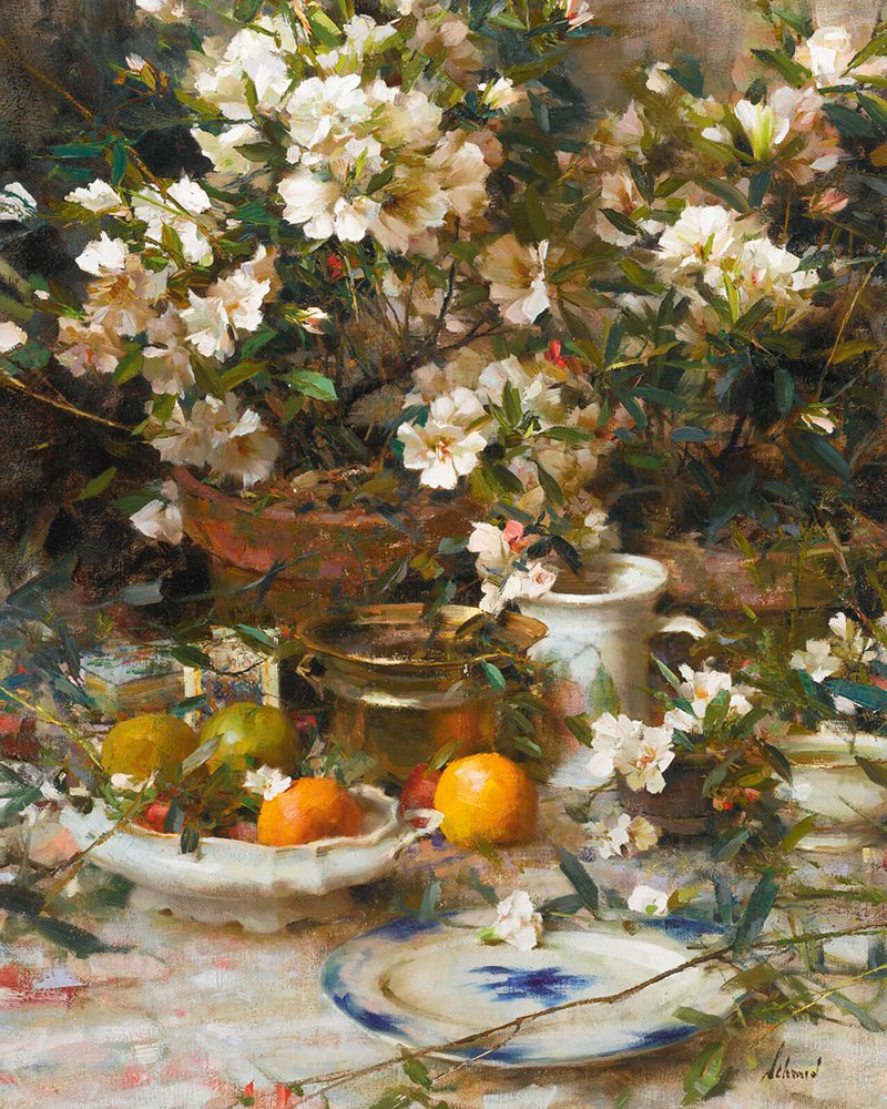 Still Life by Richard Schmid